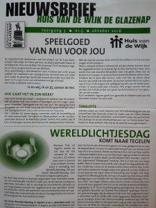 Nieuwsbrief Huis v/d Wijk